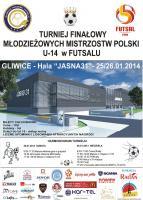 Młodzieżowe Mistrzostwa Polski U-14 w Futsalu w Gliwicach